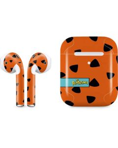 Fred Flintstone Outfit Pattern Apple AirPods 2 Skin