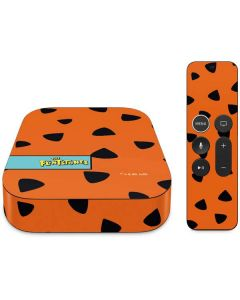 Fred Flintstone Outfit Pattern Apple TV Skin