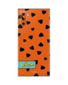 Fred Flintstone Outfit Pattern Galaxy Note 10 Skin