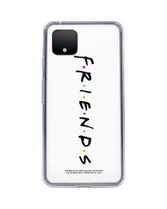 FRIENDS Google Pixel 4 XL Clear Case