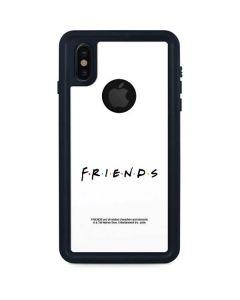 FRIENDS iPhone XS Waterproof Case