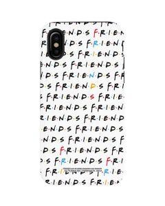 FRIENDS Pattern iPhone X Pro Case