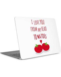 From My Head Tomatoes Apple MacBook Air Skin