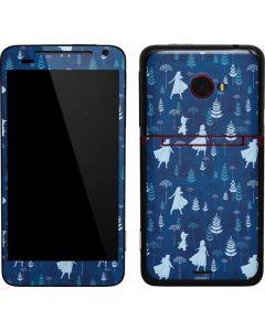 Frozen II Pattern EVO 4G LTE Skin