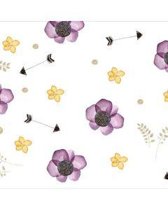 Flowers and Arrows Motorola Droid Skin