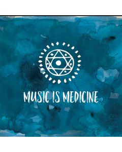 Music is Medicine Generic Laptop Skin