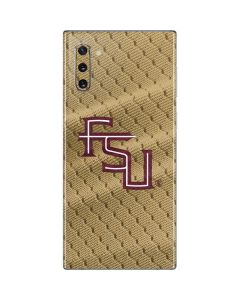 FSU Gold Print Galaxy Note 10 Skin