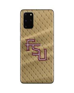 FSU Gold Print Galaxy S20 Plus Skin