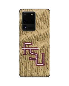 FSU Gold Print Galaxy S20 Ultra 5G Skin