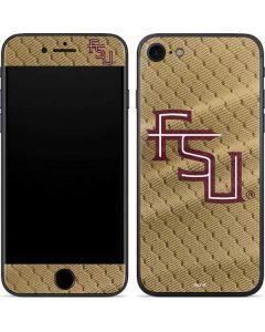 FSU Gold Print iPhone SE Skin