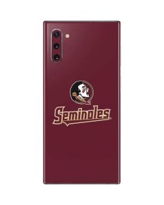 FSU Seminoles Galaxy Note 10 Skin