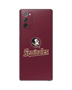 FSU Seminoles Galaxy Note20 5G Skin