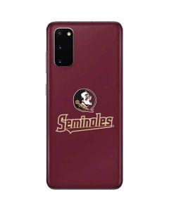 FSU Seminoles Galaxy S20 Skin