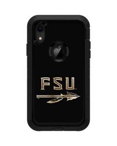 FSU Spear Logo Otterbox Defender iPhone Skin
