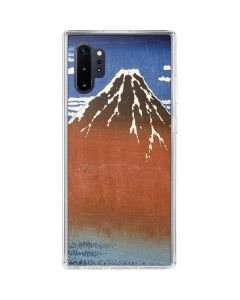 Fuji Mountains in clear Weather Galaxy Note 10 Plus Clear Case