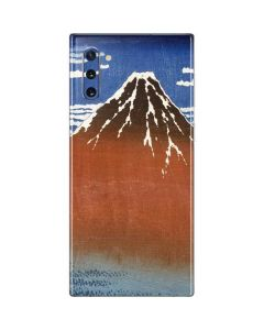 Fuji Mountains in clear Weather Galaxy Note 10 Skin