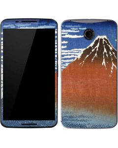 Fuji Mountains in clear Weather Google Nexus 6 Skin