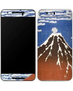 Fuji Mountains in clear Weather Google Nexus 6P Skin