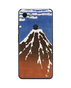 Fuji Mountains in clear Weather Google Pixel 3 XL Skin
