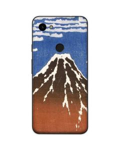 Fuji Mountains in clear Weather Google Pixel 3a Skin