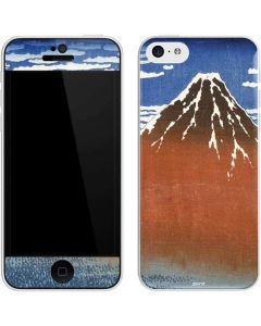 Fuji Mountains in clear Weather iPhone 5c Skin