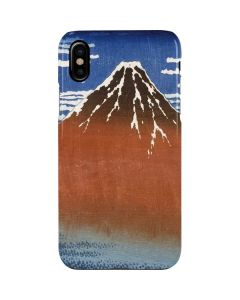 Fuji Mountains in clear Weather iPhone XS Max Lite Case