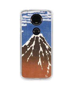 Fuji Mountains in clear Weather Moto E5 Plus Clear Case