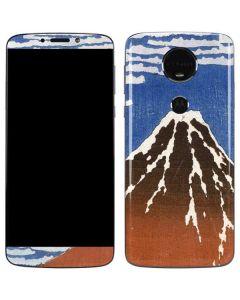 Fuji Mountains in clear Weather Moto E5 Plus Skin