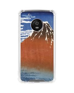 Fuji Mountains in clear Weather Moto G5 Plus Clear Case