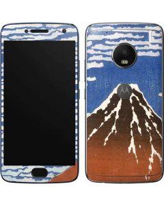 Fuji Mountains in clear Weather Moto G5 Plus Skin