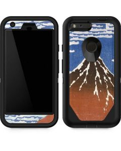 Fuji Mountains in clear Weather Otterbox Defender Pixel Skin