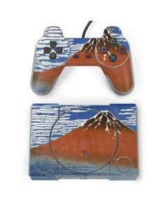 Fuji Mountains in clear Weather PlayStation Classic Bundle Skin
