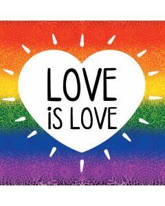 Love Is Love Rainbow PlayStation 4 Gold Wireless Headset Skin