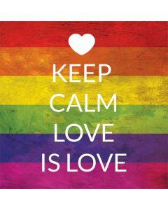 Keep Calm Love Is Love Generic Laptop Skin