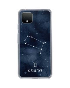 Gemini Constellation Google Pixel 4 XL Clear Case
