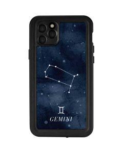 Gemini Constellation iPhone 11 Pro Max Waterproof Case