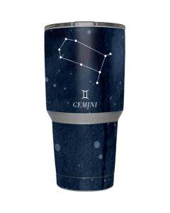 Gemini Constellation Yeti 30z Rambler Tumbler Skin