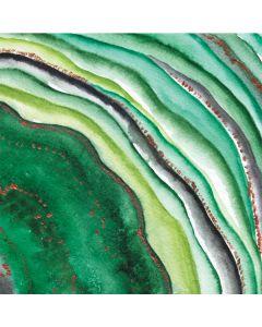 Kiwi Watercolor Geode LifeProof Nuud iPhone Skin