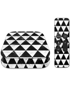 Geometric Marble Apple TV Skin