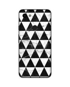 Geometric Marble Google Pixel 3a Skin