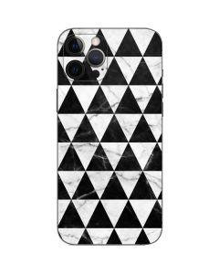 Geometric Marble iPhone 12 Pro Skin