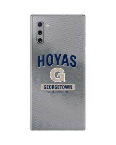 Georgetown Established 1789 Galaxy Note 10 Skin