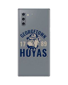 Georgetown Hoyas 1789 Galaxy Note 10 Skin