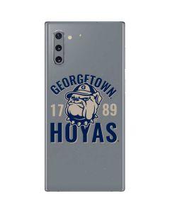 Georgetown Hoyas 1789 Galaxy Note 10 Skin
