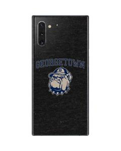 Georgetown Hoyas Bulldog Galaxy Note 10 Skin