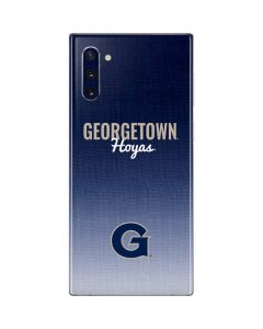 Georgetown Hoyas Galaxy Note 10 Skin