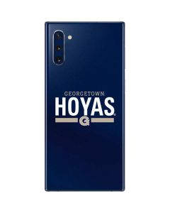 Georgetown Hoyas Stripe Galaxy Note 10 Skin