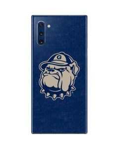 Georgetown Jack the Bulldog Mascot Galaxy Note 10 Skin