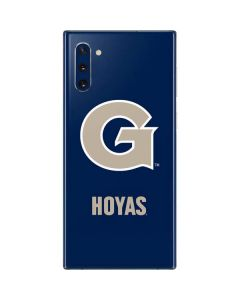 Georgetown Large Logo Galaxy Note 10 Skin