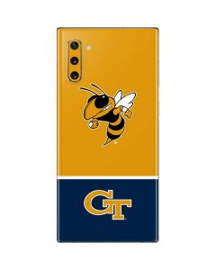 Georgia Tech Yellow Jackets Galaxy Note 10 Skin